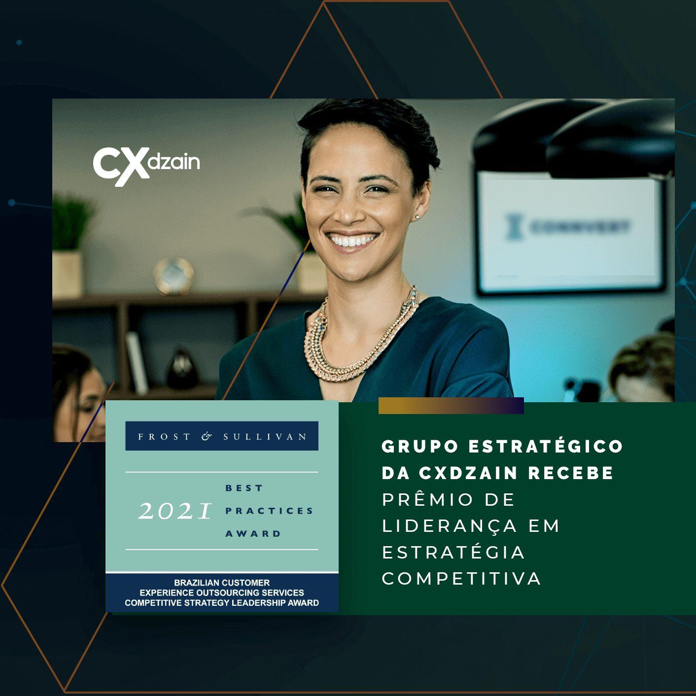 Grupo estratégico da CXdzain recebe prêmio da Frost & Sullivan em categoria inédita
